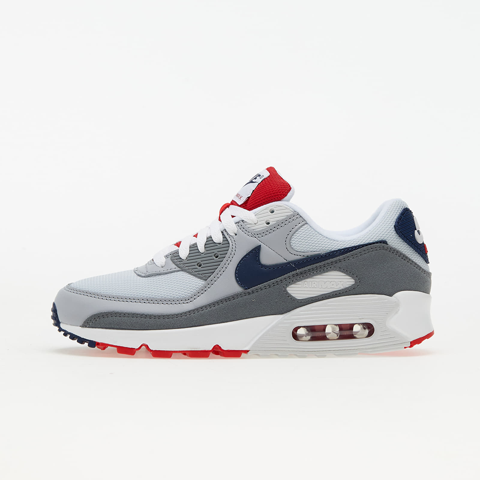 Nike Air Max 90 Pure Platinum/ Midnight Navy-Wolf Grey EUR 45