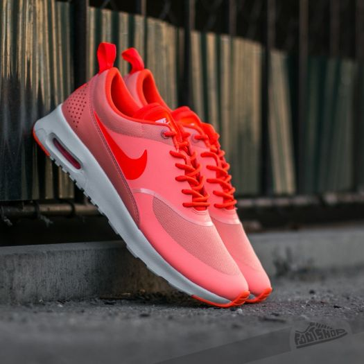 crazy price on wholesale details for Nike Wmns Air Max Thea Atomic Pink/ Total Crimson-White ...