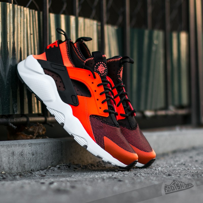 39b83fb37172 Nike Air Huarache Run Ultra Black  Total Crimson-White