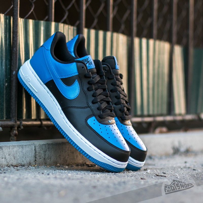 Nike Air Force 1 Black  Star Blue-White  0c756992da