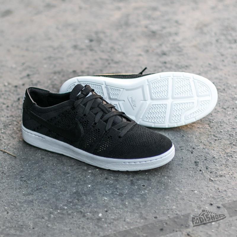 Nike Tennis Classic Ultra Flyknit Black Black White Dark