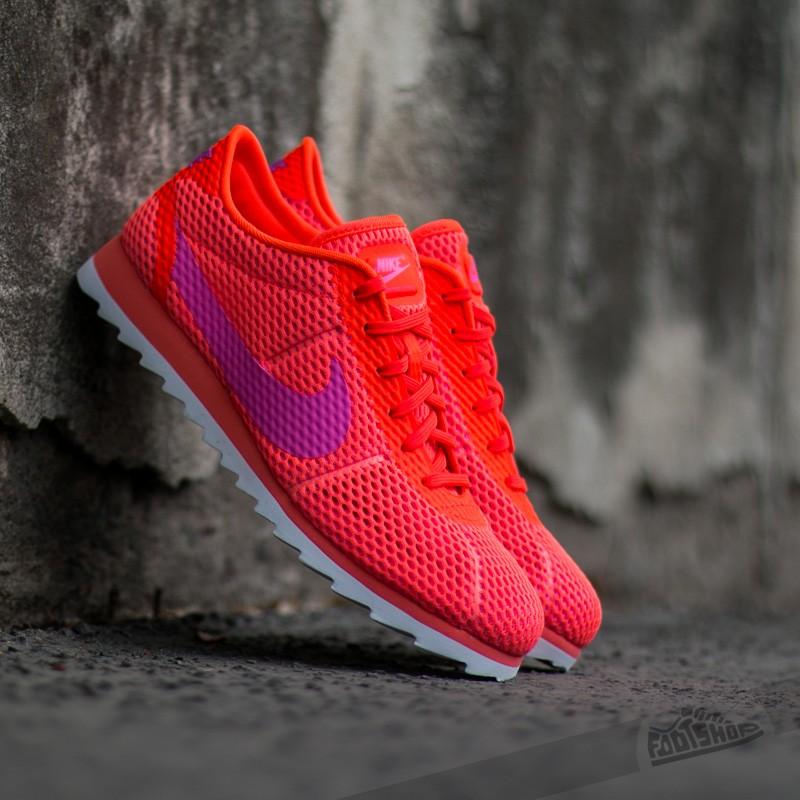 ef772035aee6 Nike W Cortez Ultra BR Total Crimson  Pink Blast-White