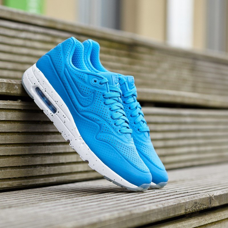 the latest 88d5b 847fc Nike Air Max 1 Ultra Moire Photo Blue Photo Blue- White