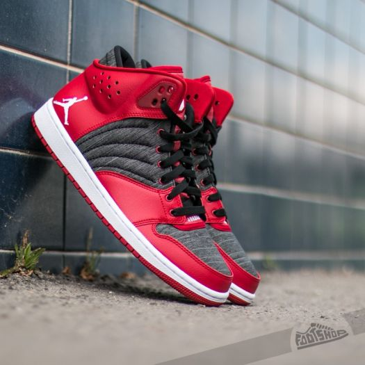 pretty nice 38675 a03ed Jordan 1 Flight 4 Gym Red/ White-Black-White | Footshop