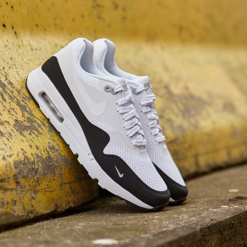 finest selection afe3c 88450 Nike Air Max 1 Ultra Essential White White-Black-Wolf Grey