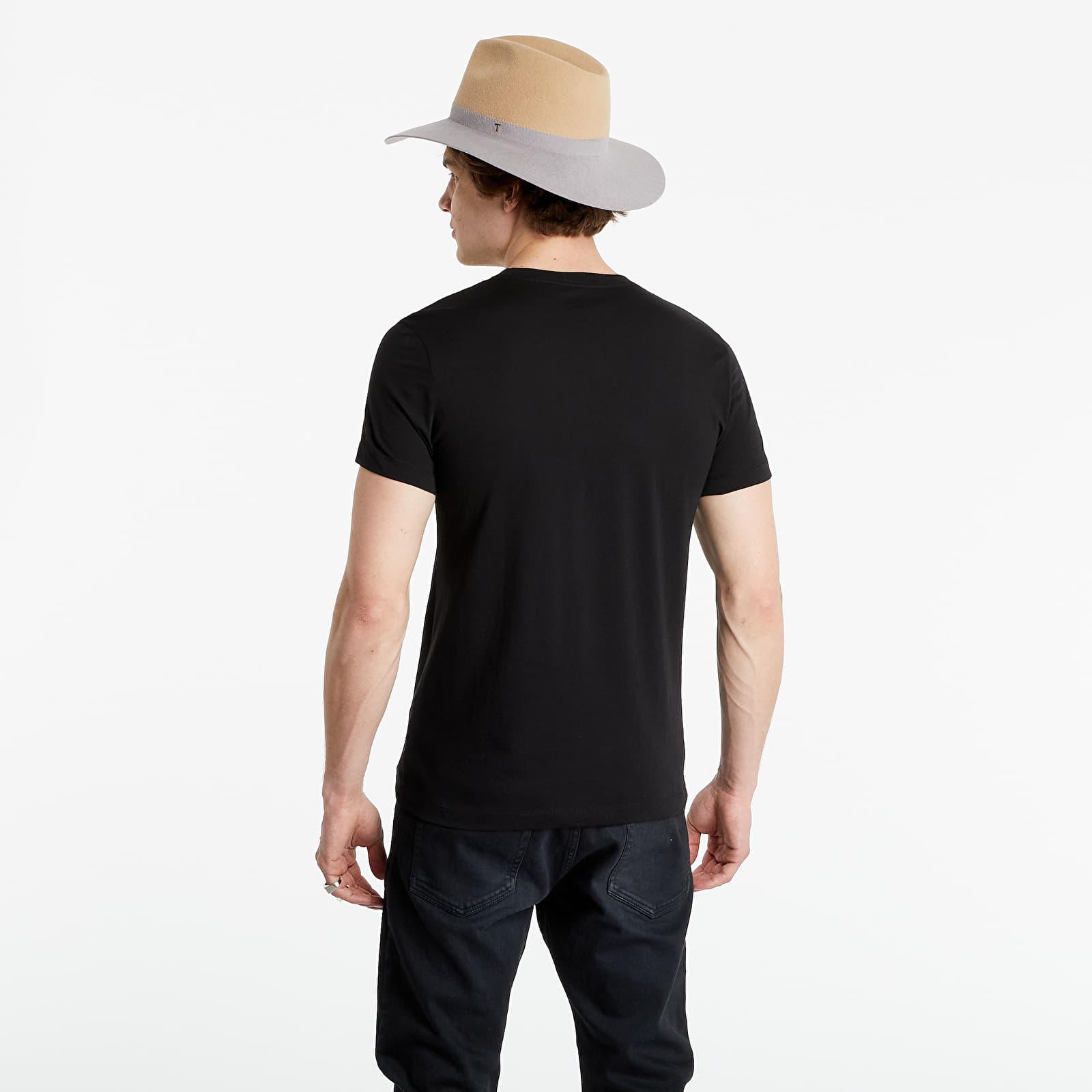 Calvin Klein Jeans 2 Pack Slim Organic Cotton T-Shirts Bright White/ Black Beauty M