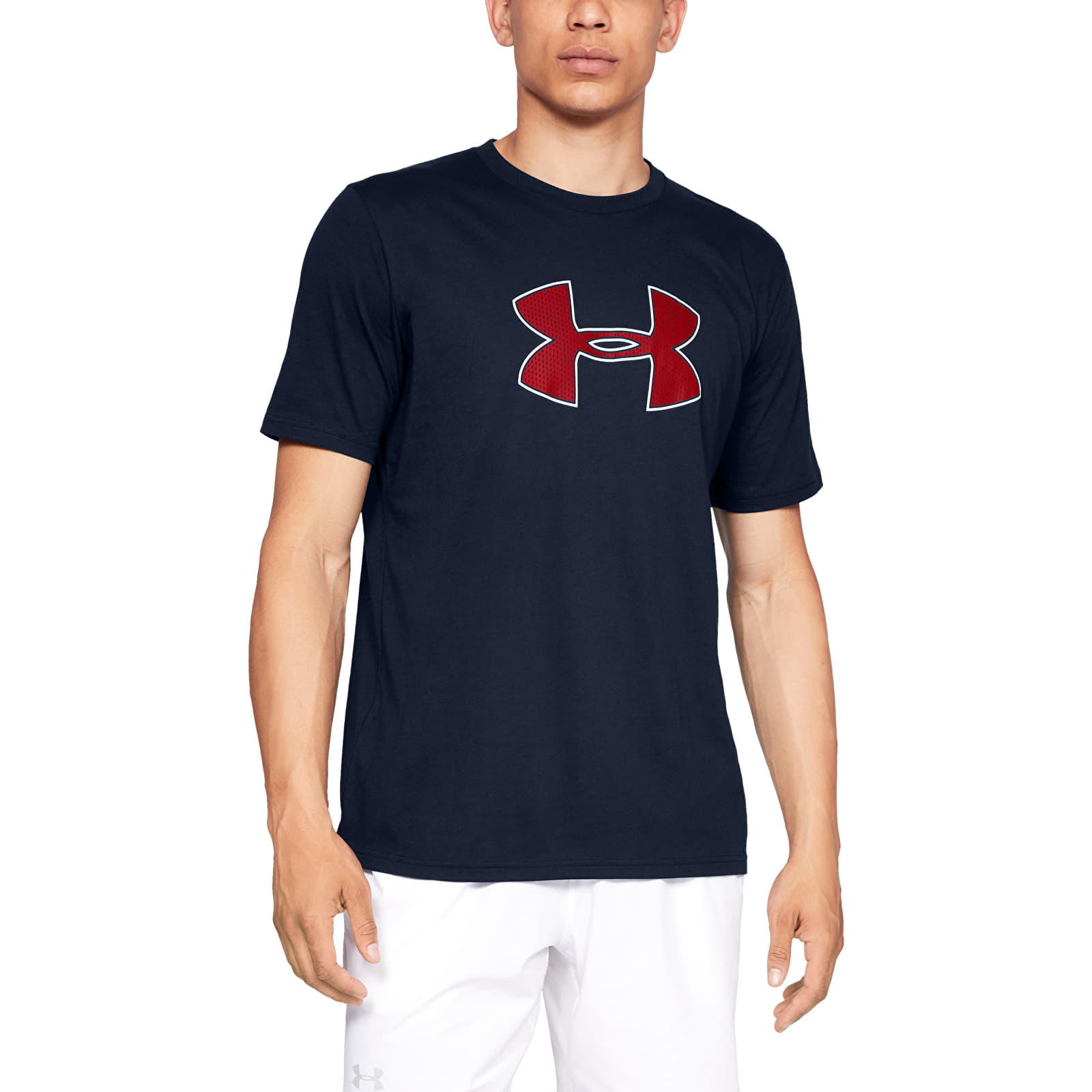 Under Armour Big Logo SS Academy/ Red