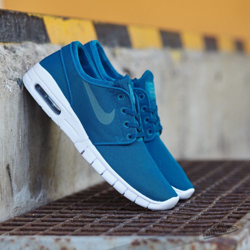 0093155b81 authentic nike sb stefan janoski max l mens shoes hyper jade green white  71.25 be4ec 2f4da; greece nike stefan janoski max green abyss hasta white  hasti ...
