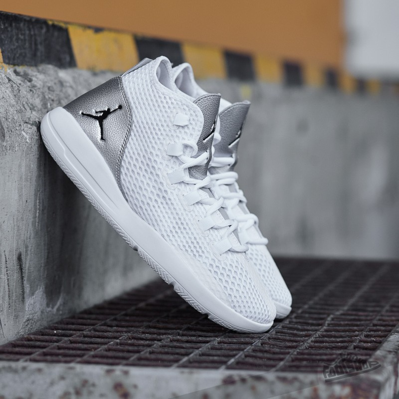 detailed look 791bf 138a3 Jordan Reveal White  Black- Metallic Silver- Infrrd 23