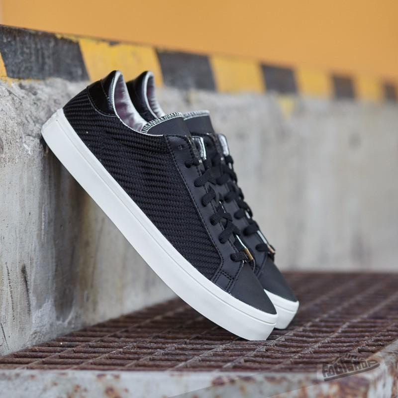 66e47b6d23d0 adidas Court Vantage Core Black  Silver MT  Core White