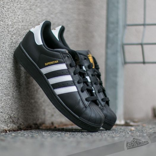 the latest 4a3d4 43775 adidas Superstar Foundation J Core Black/ Ftw White/ Core ...