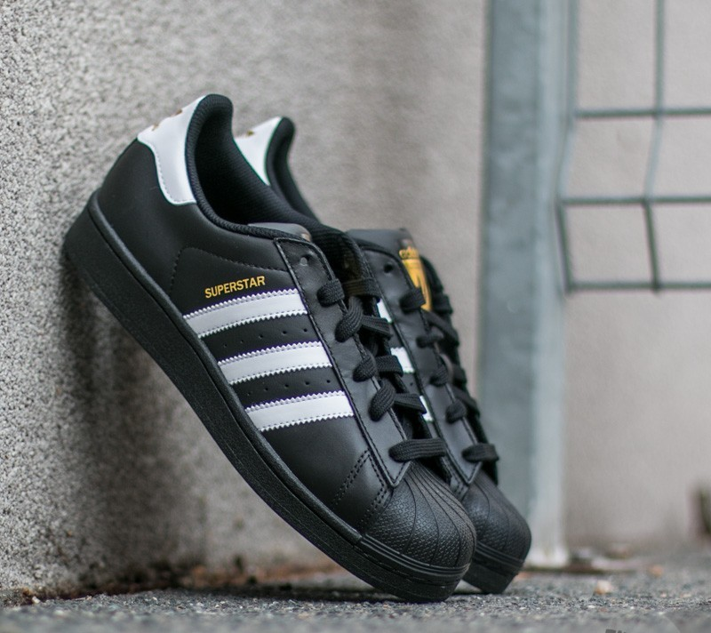 b081b175 adidas Superstar Foundation J Core Black/ Ftw White/ Core Black ...