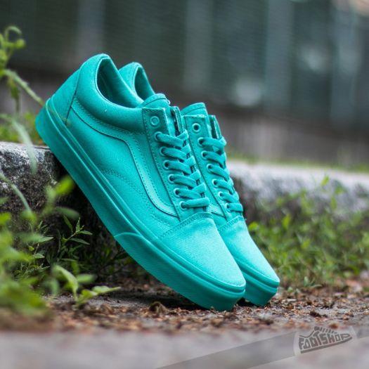 Vans Old Skool (Mono) Bright Aqua | Footshop