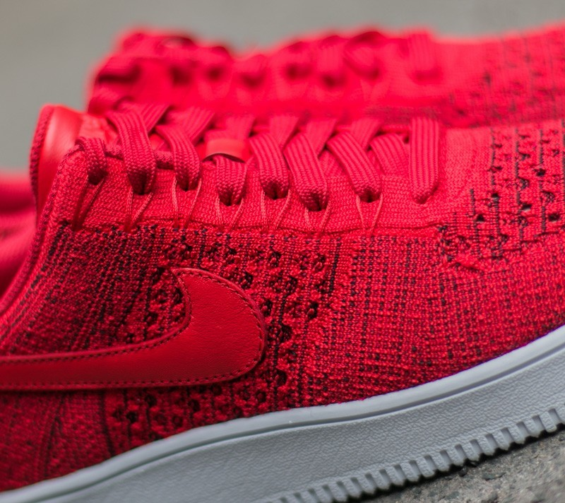 Nike Air Force 1 Ultra Flyknit Low University Red Unviresity Red White | Footshop