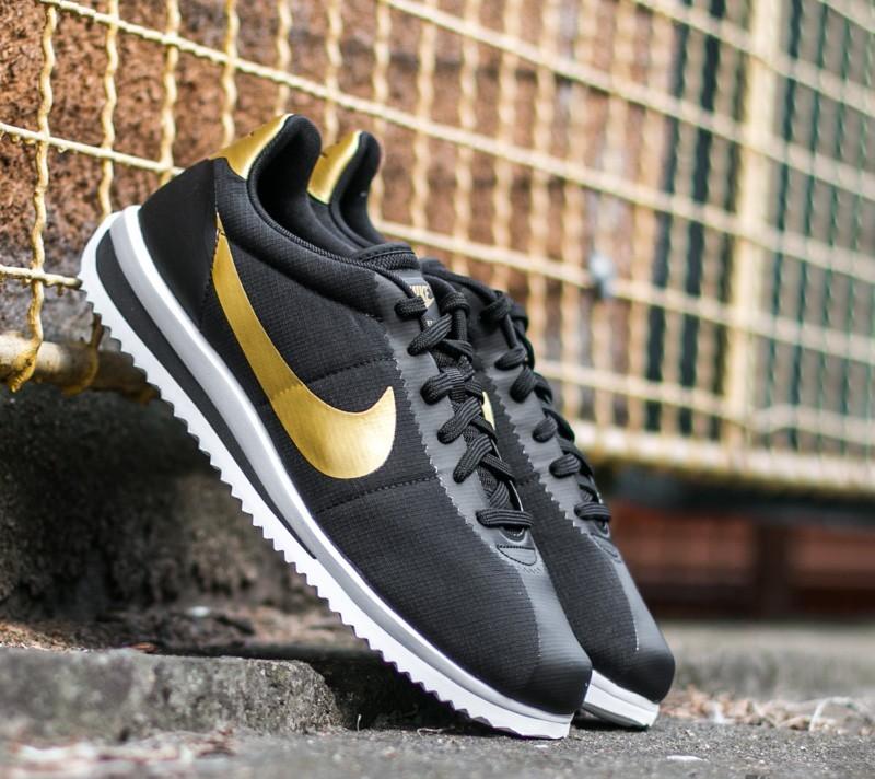 119ea6887ad6 Nike Cortez Ultra QS Black  Metalic Gold-Black