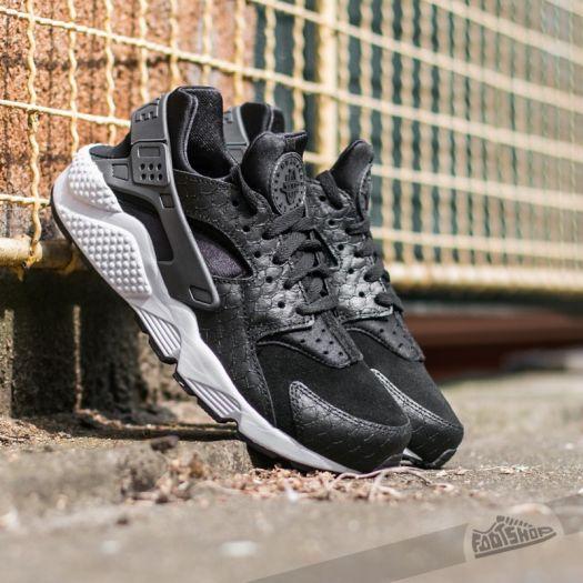 trampa Soportar Falsificación  Men's shoes Nike Air Huarache Run Premium Black/ Dark Grey-White
