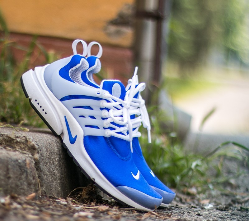 new arrival 4f9ee bd95d Nike Air Presto Racer Blue White- Black