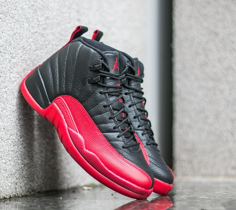 931f30ebc634 Air Jordan 12 Retro  Flu Game  Black  Varsity Red