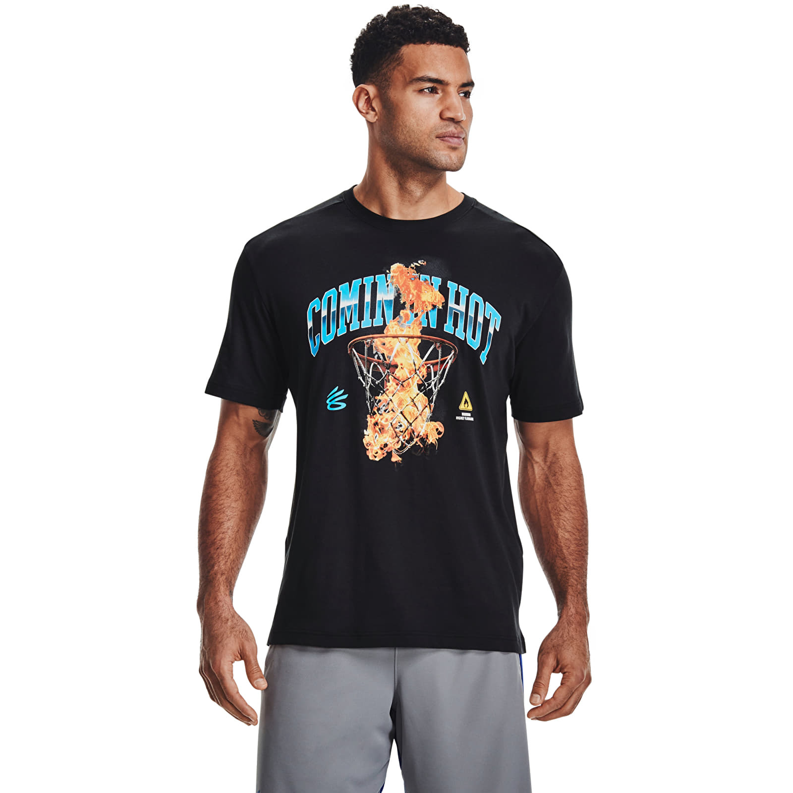 Under Armour Curry Coming In Hot Tee Black