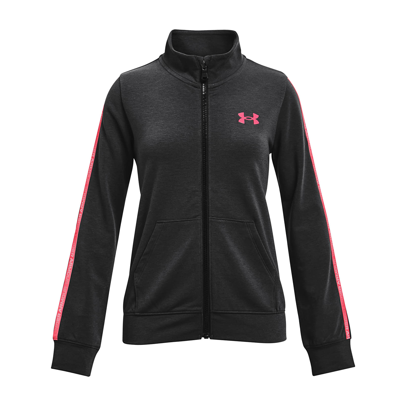 Under Armour Y Rival Terry Taped Fz Black