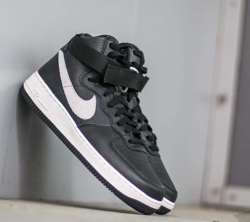 watch 8630a 0aa23 Nike Air Force 1 High Retro QS Black  Summit White