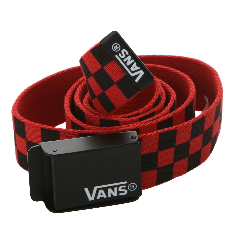 647038d45b Vans Deppster Web Belt Red Black