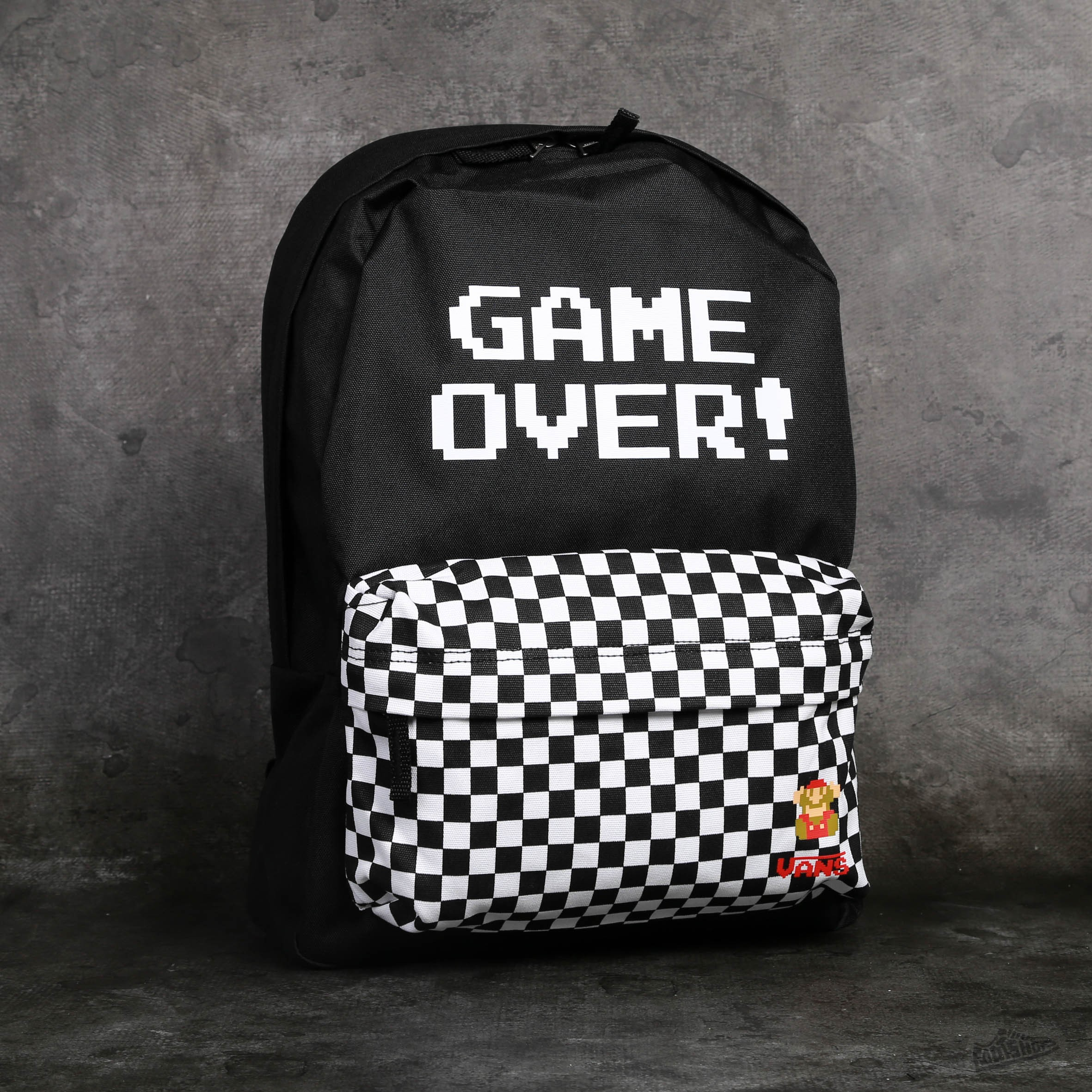 421400d5929 Vans Nintendo Old Skool II Backpack Game Over