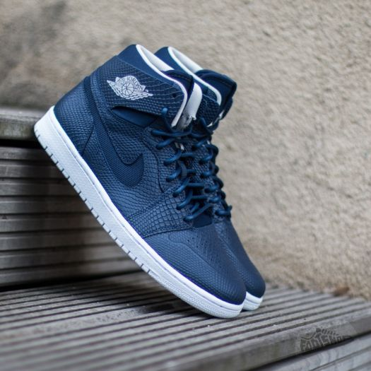 Air Jordan 1 Retro High Nouv Mid Navy  Light Bone-White-Infrared 2 ... 8ba09c567ede
