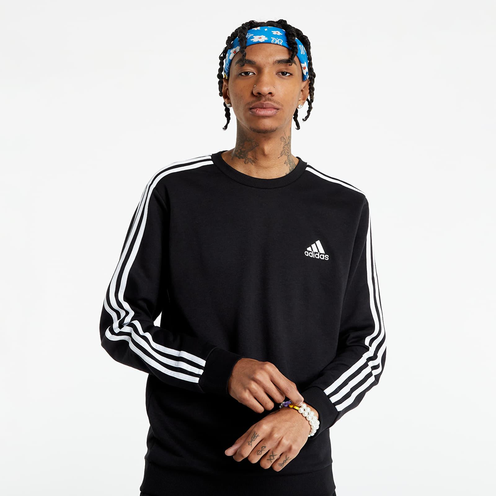 adidas Essentials Sweatshirt Black/ White EUR