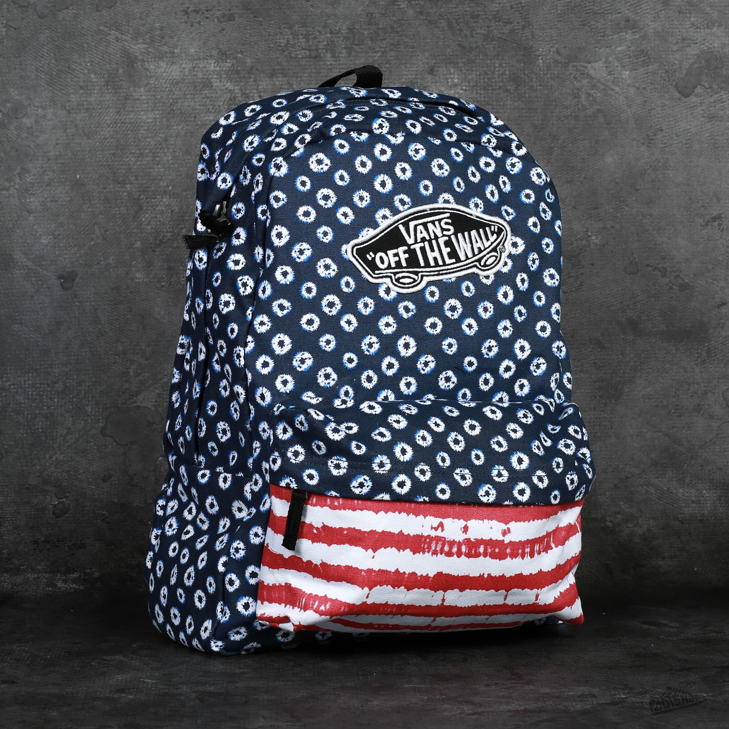 47affd580dd46f Vans Realm Backpack Dyed Dots   Stripes