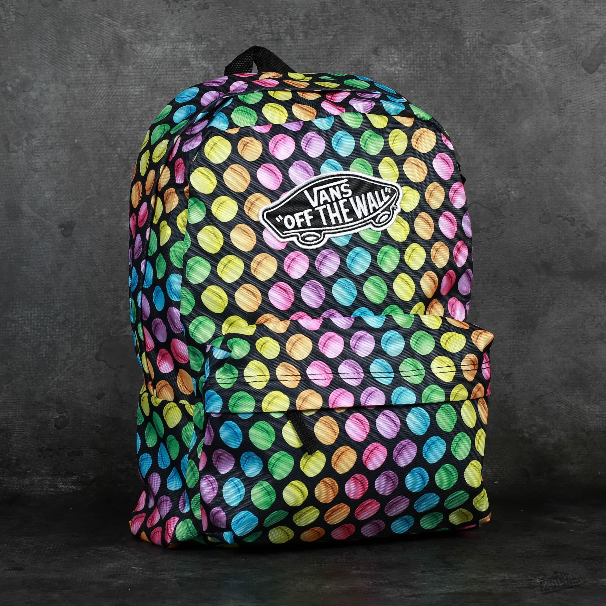1bc1c2b77a Vans Realm Backpack (Late Night) Black/Macaroons | Footshop