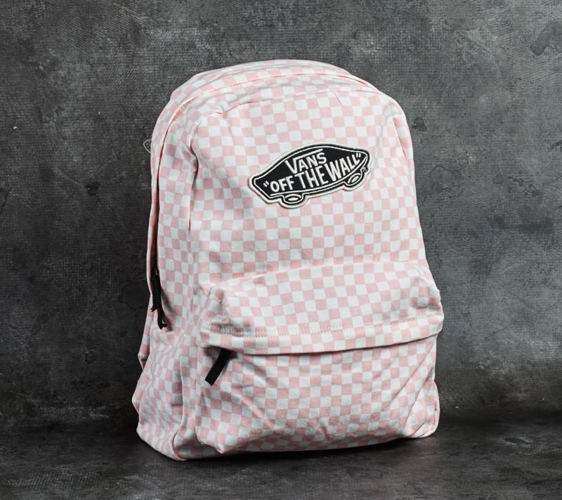 pink vans backpack. Vans Checkerboard ... 35ea00df5b734