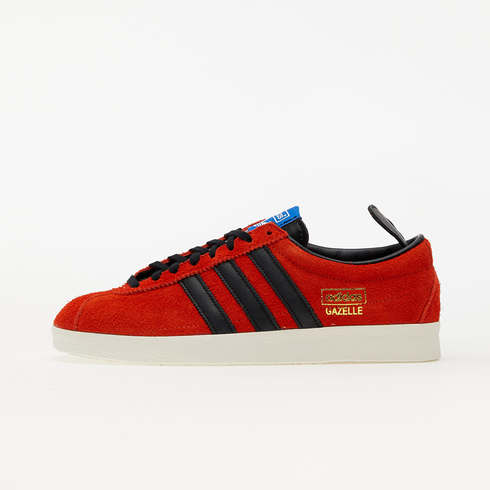 adidas Gazelle Vintage True Orange/ Core Black/ Blue EUR 47 1/3