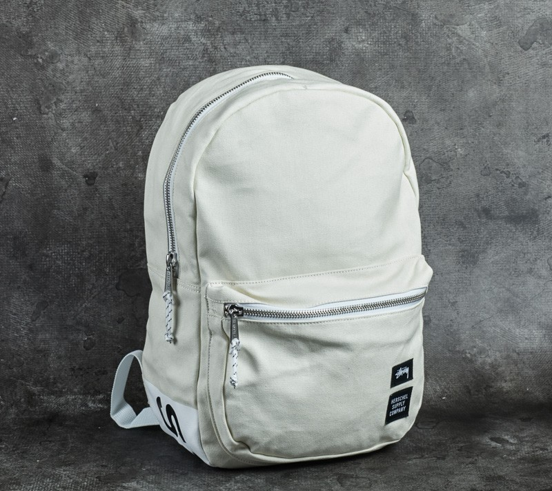 950fa8bde70 Stüssy x Herschel Heavy Canvas Lawson Backpack White