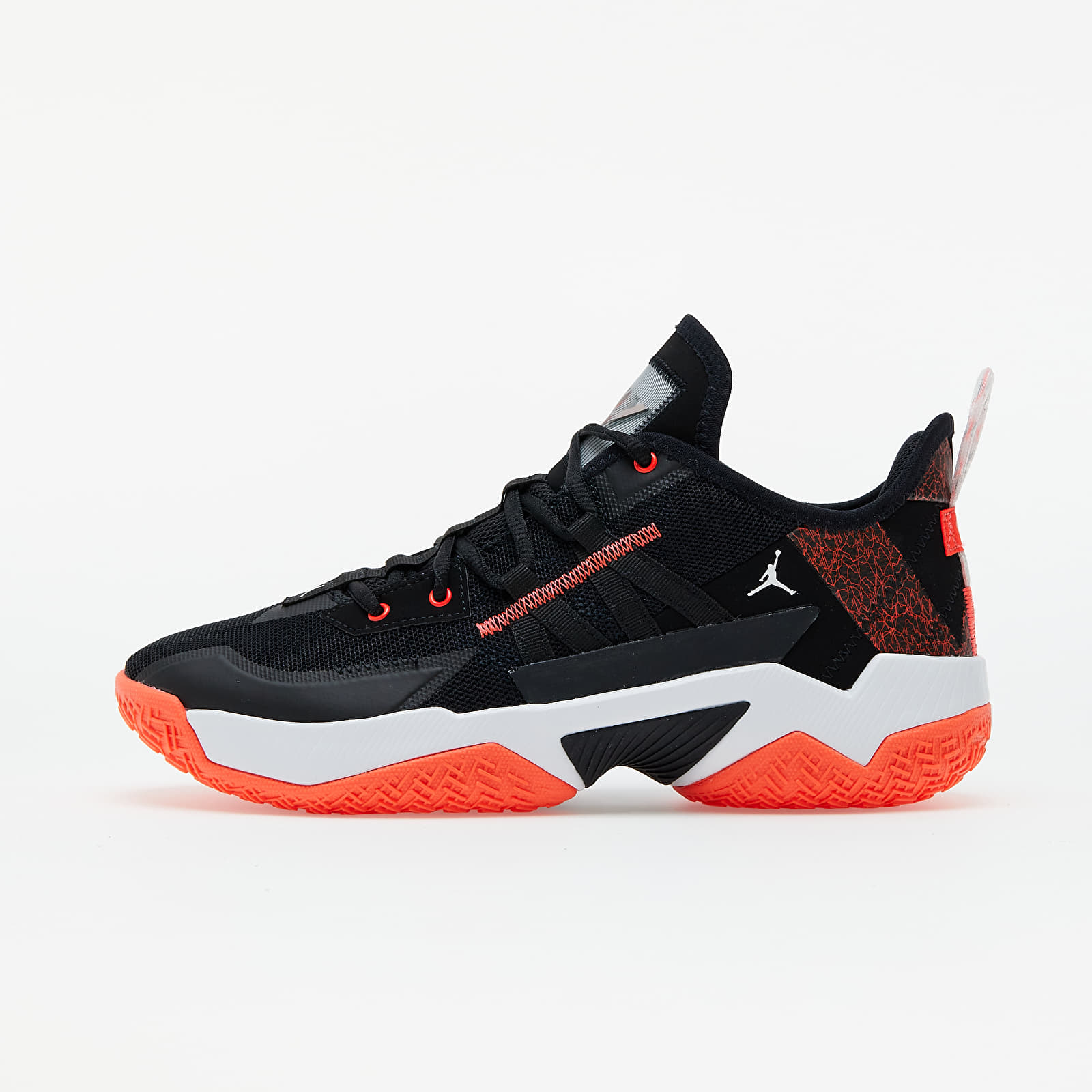 Jordan One Take II Black/ Bright Crimson-White EUR 44