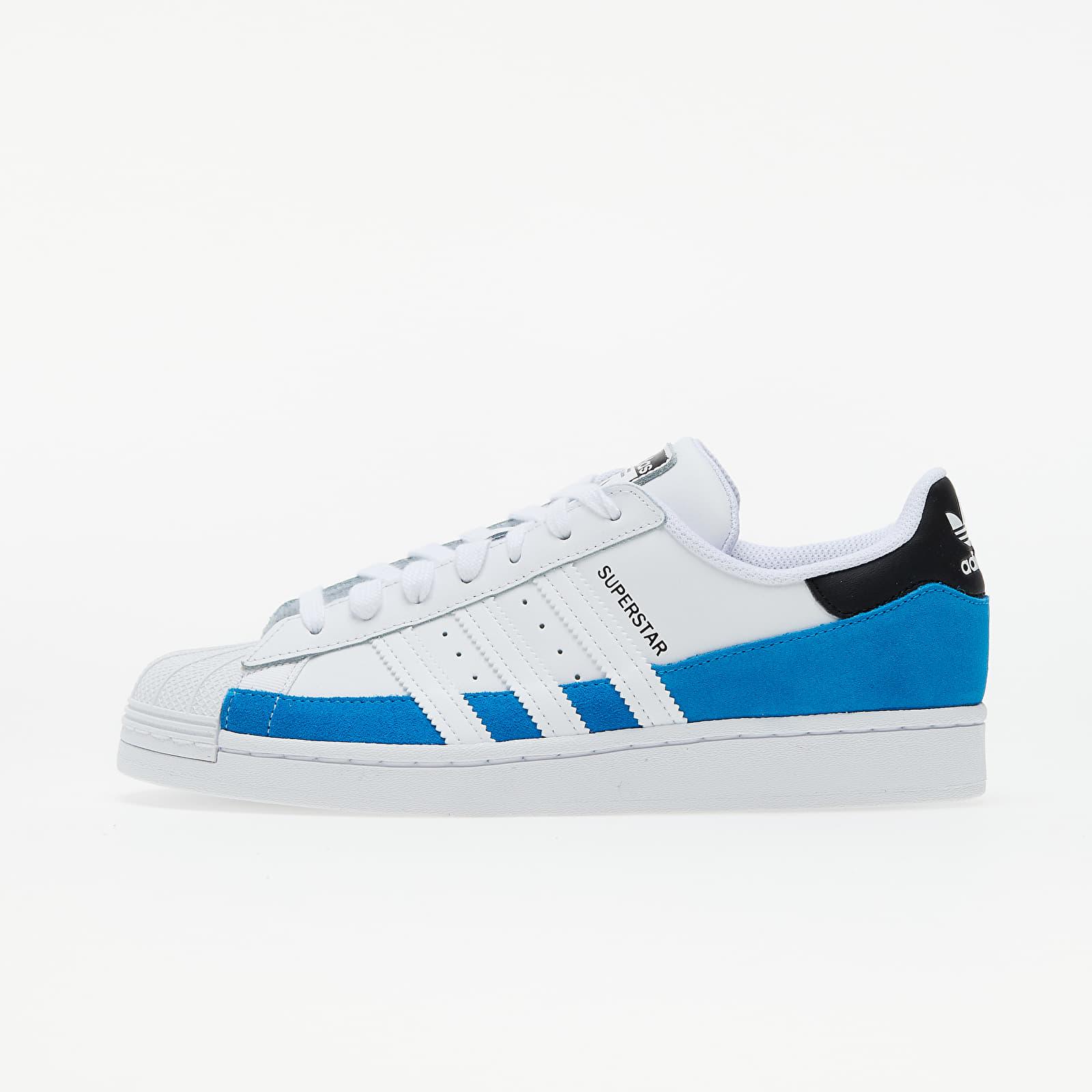 adidas Superstar Bright Blue/ Ftw White/ Core Black EUR 41 1/3