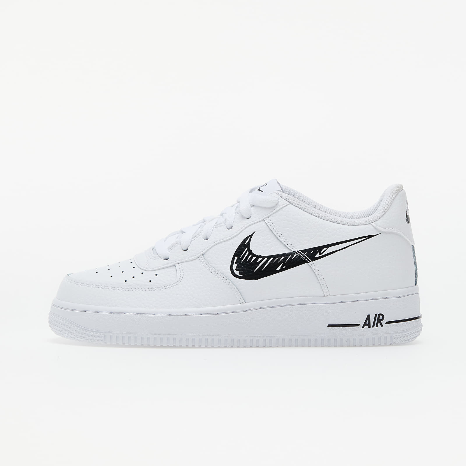 Nike Air Force 1 Low GS White/ Black-White EUR 37.5