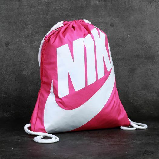 exótico Cálculo dolor  Vaky na záda / Gymsacks Nike Heritage Gymsack Pink | Footshop