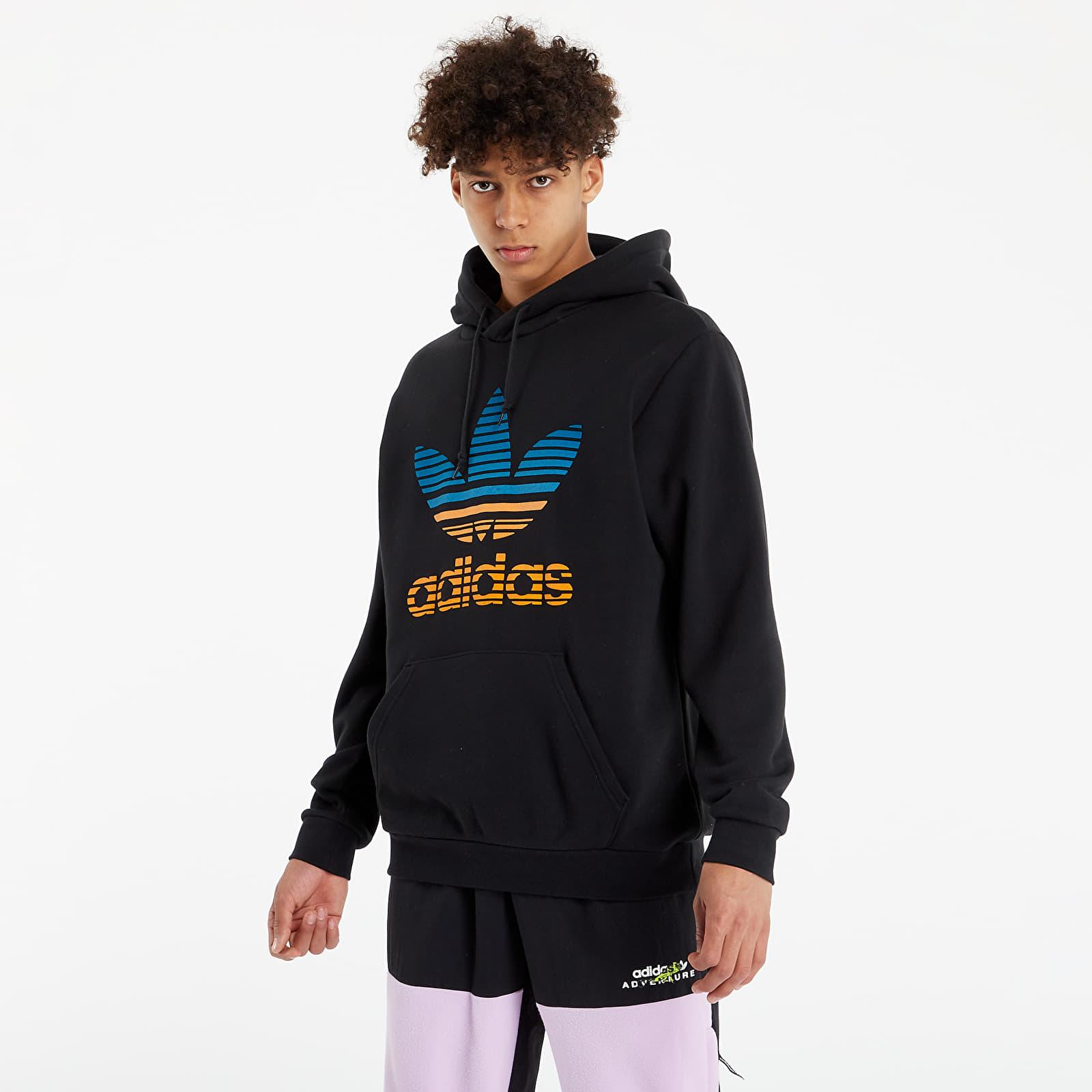 adidas Originals Trefoil Ombré Hoodie Black EUR