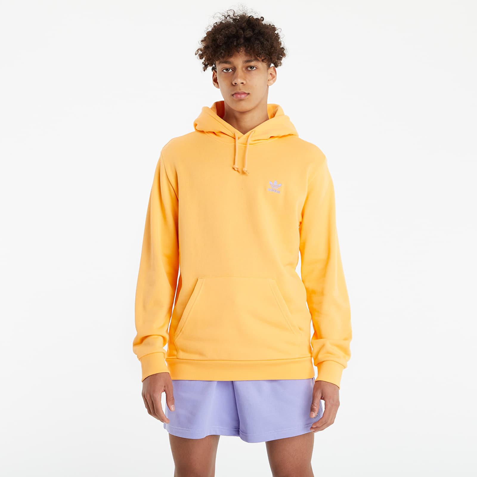 adidas Originals LOUNGEWEAR Trefoil Essentials Hoodie Hazy Orange EUR