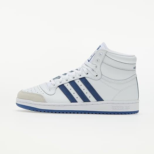 adidas Top Ten Ftwr White/ Crew Blue/ Crystal White   Footshop