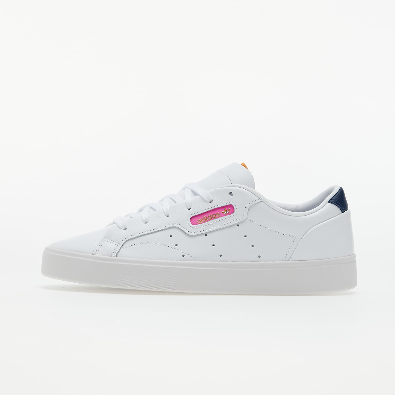 adidas Sleek W Ftwr White/ Crew Navy/ Screaming Pink EUR 39 1/3
