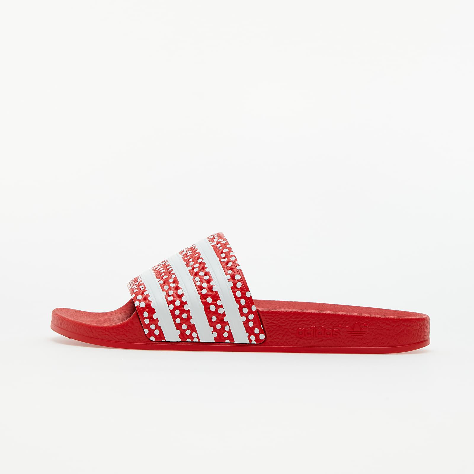 adidas Adilette W Ftw White/ Vivid Red/ Ftw White EUR 40.5