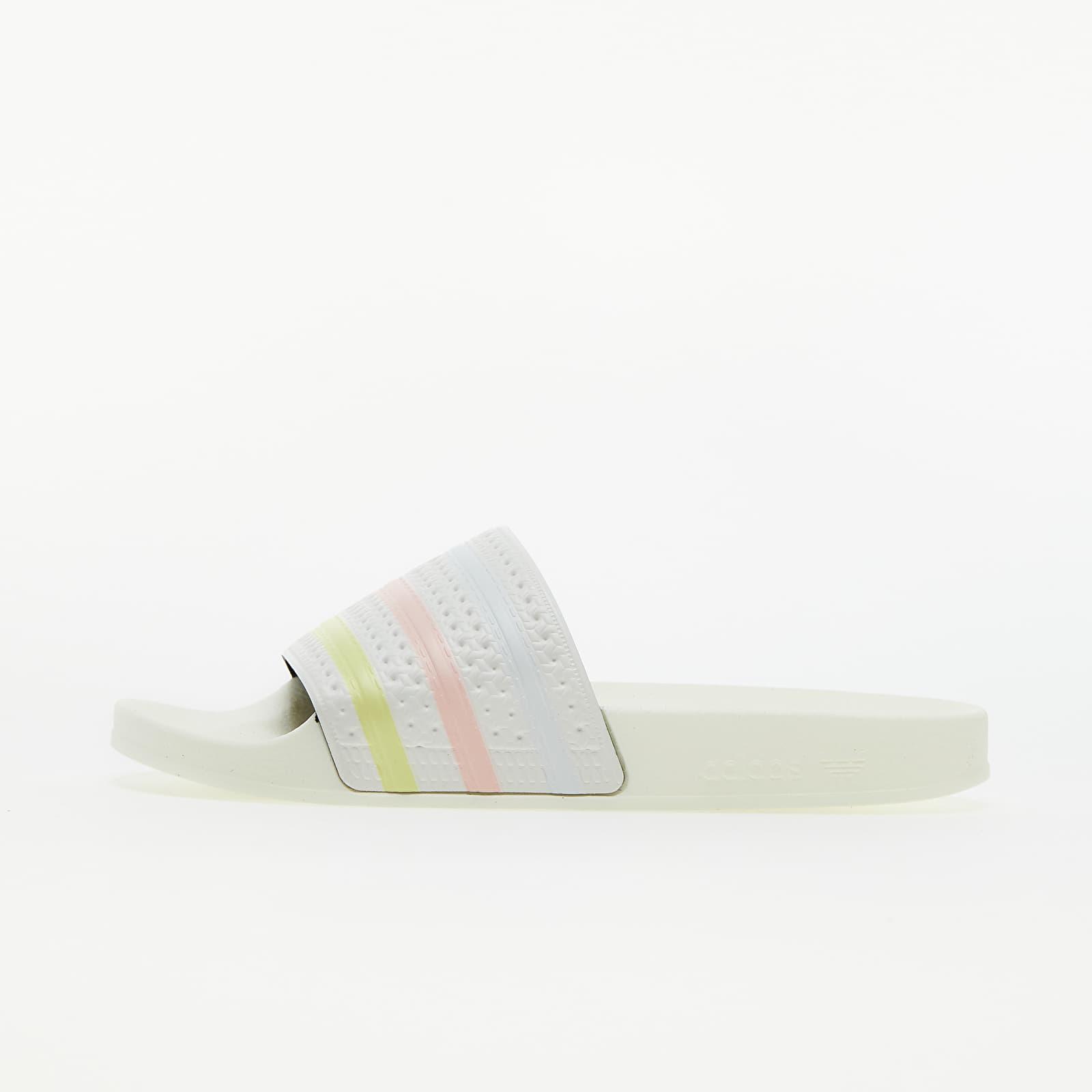 adidas Adilette W Off White/ Yellow Tint/ Pink Tint EUR 38