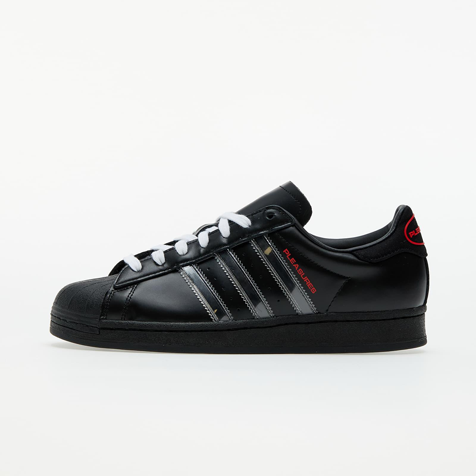 adidas x Pleasures Superstar Core Black/ Ftwr White/ Red EUR 36