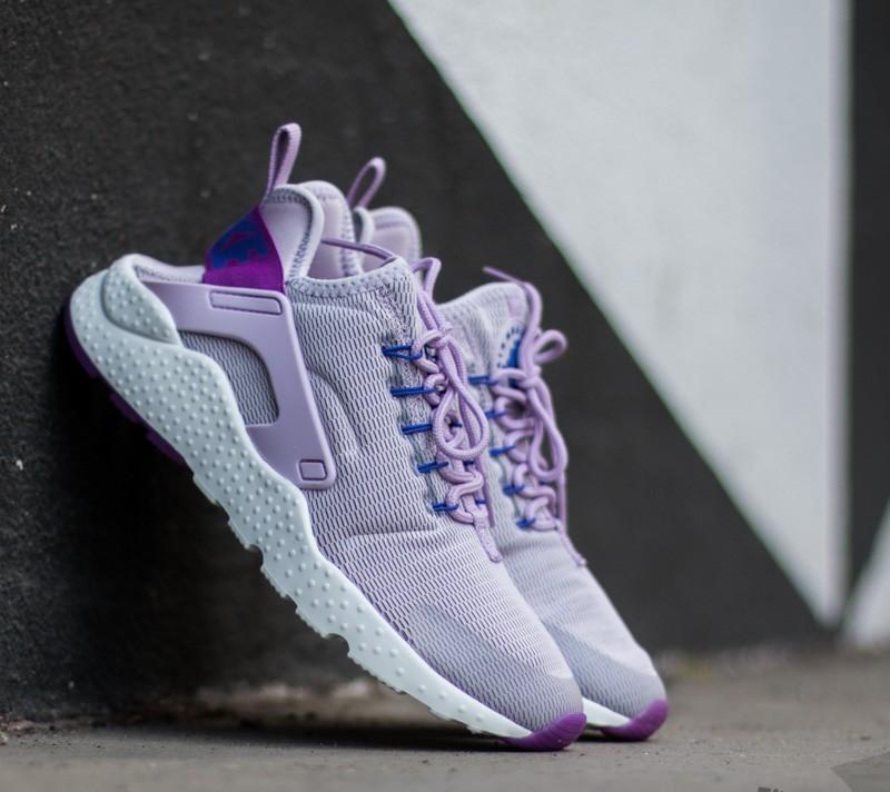 a7e20e508dbc Nike Wmns Air Huarache Run Ultra Bleached Lilac  Hyper Violet ...