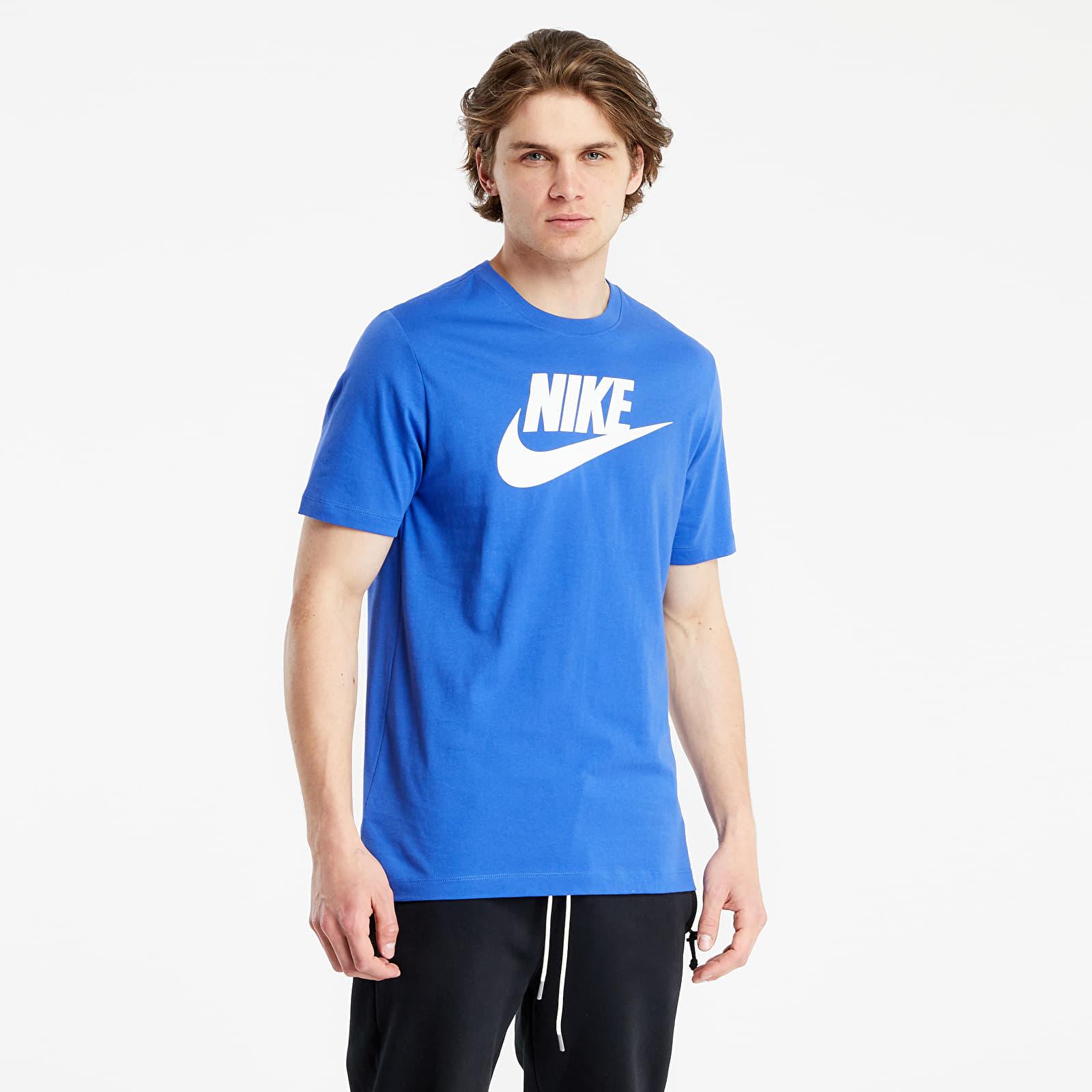Nike Sportswear Tee Icon Futura Astronomy Blue/ White S