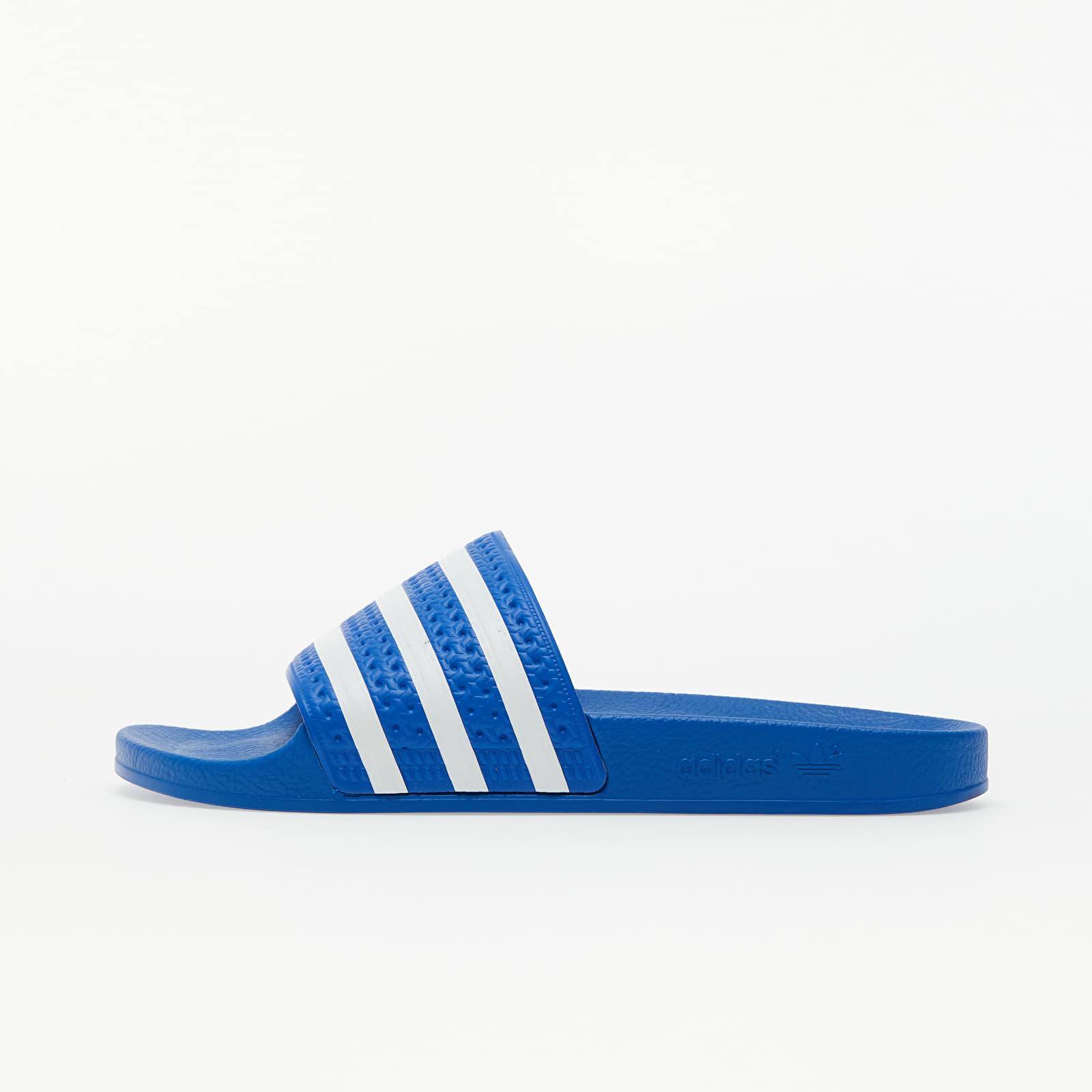 adidas Adilette Glow Blue/ Ftw WHite/ GLow Blue EUR 44.5