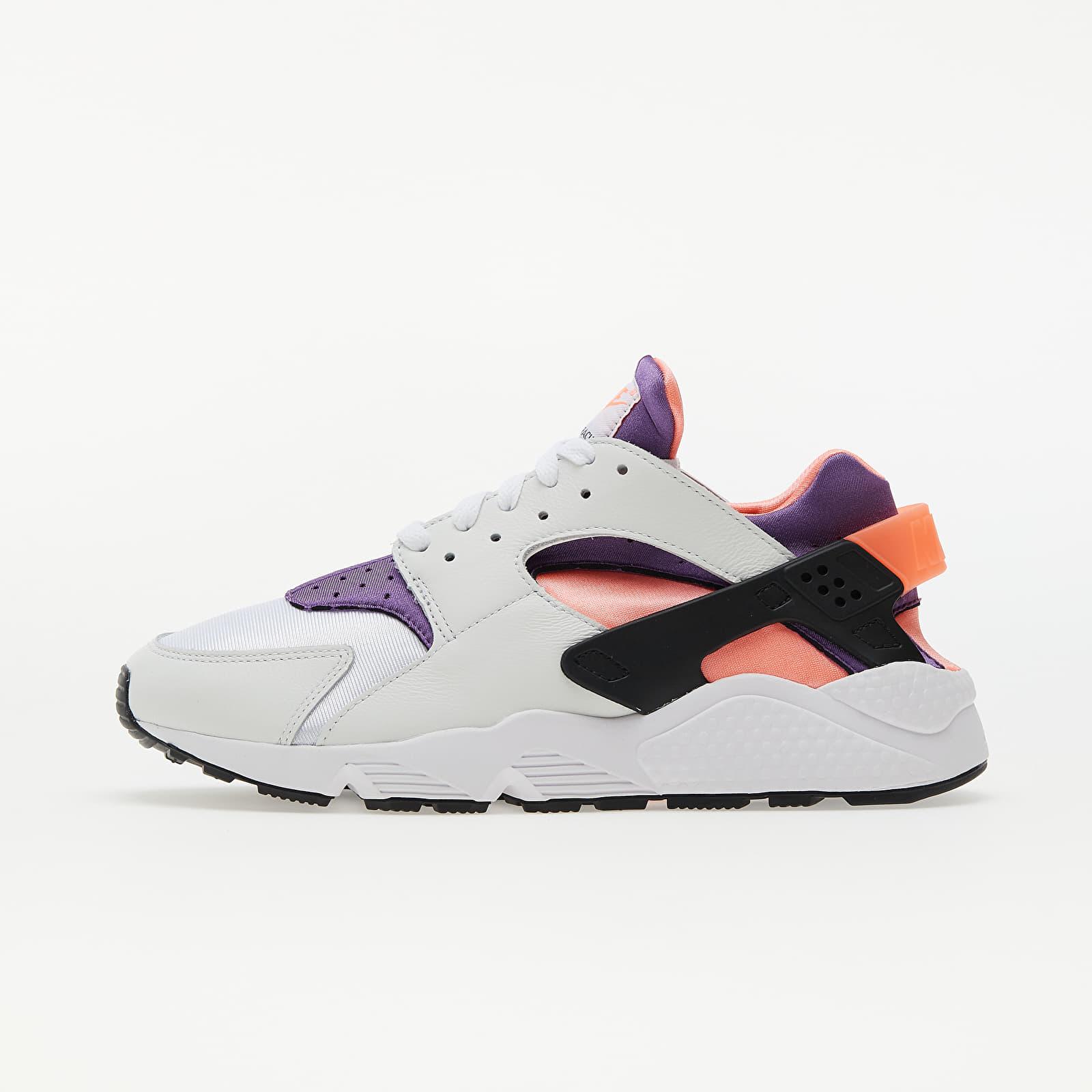 Nike Air Huarache White/ Purple-Bright Mango-Black EUR 43