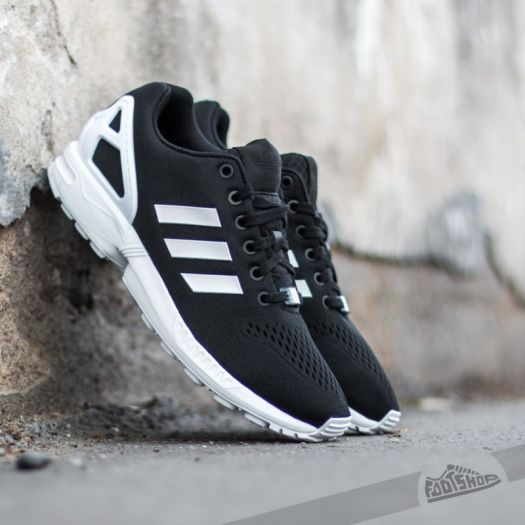 best loved 6523f 4935e adidas ZX Flux EM Core Black/ Ftw White/ Core Black | Footshop